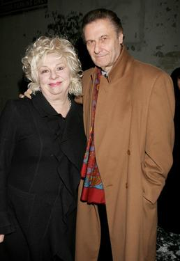 Renee Taylor and Joe Bologna at the opening night performance of &quot;White Christmas.&quot;
